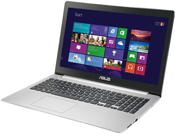 Picture of Asus VivoBook, Intel Haswell Core i5-4210U, 15.6', 4GB, 750GB, WIN 8 Pro