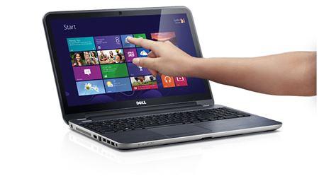 Picture of Dell Inspiron 5521, 15.6 Touchscreen Laptop, Core i7, 16GB Memory, 1TB HDD, 2GB ATI Graphics