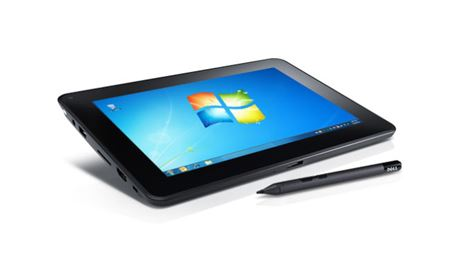 Picture of Dell Latitude ST Tablet Intel Atom 1.5GHz Single Core CPU, 2GB 800Mhz FFR2 Dual Channel RAM, 25.7cm (10.1 Inch) WXGA 1280x800 Multi-Touch LED Display, Integrated Camera, 128GB Solid State , Wireless and 3G