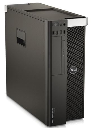 Picture of Dell Precision T5610, Intel® Xeon® E5-2609 v2, 16GB, 1TB, WIN 7 PRO