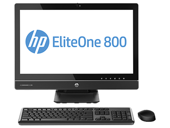 Picture of HP EliteOne 800 G1 AiO, i5-4570S 2.9GHz, 23', 4GB, 500GB, WIN 8 PRO