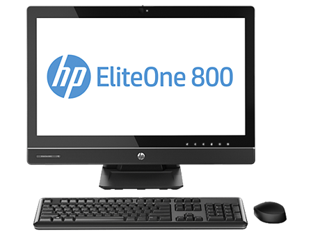 Picture of HP EliteOne 800 G1 AiO, i7-4770S 3.1GHz, 23', 8GB, 128GB, WIN 8 PRO