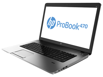 Picture of HP ProBook 470, 4GB, 500GB, 17.3', WIN8PRO
