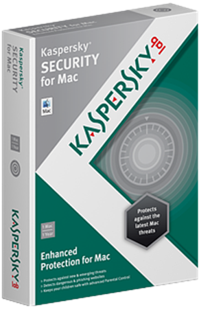 Picture of Kaspersky Anti-Virus for Mac