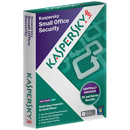 Picture of Kaspersky Small Office Security - Protects 1 Server & 5 Workstations