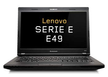 Picture of Lenovo E49 Notebook Intel Celeron Processor B815 (1.6GHz) 4GB Memory 320GB Hard Drive