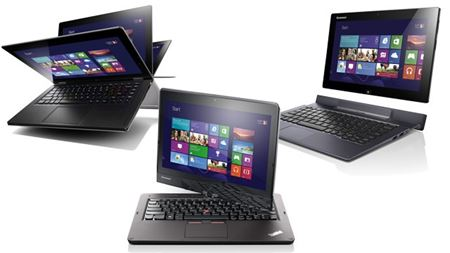 Picture of Lenovo Helix Tablet ThinkPad, i5-3337U, 4GB, 11.6'HD, WIN8PRO