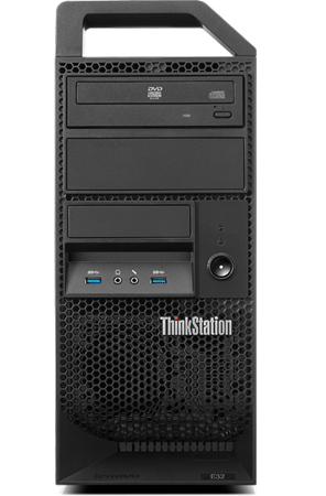 Picture of Lenovo ThinkStation E32, Xeon E3-1225V3, 4GB, 1TB, WIN 8 PRO
