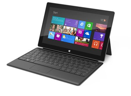 Picture of Microsoft - Surface with Windows RT with 32GB Memory & Black Touch Cover