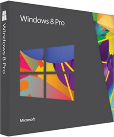 Picture of Microsoft DSP Windows 8 Professional 32-BIT