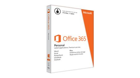 Picture of Microsoft Office 365 Personal - 1 Year Subscription