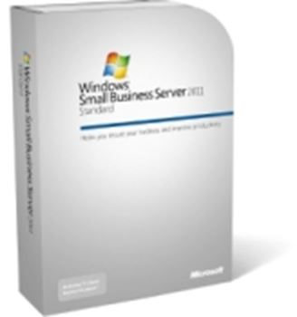 Picture of Microsoft Small Business Server 2011 Standard X64 for 1-4 CPU's, with DVD, with 5CALS