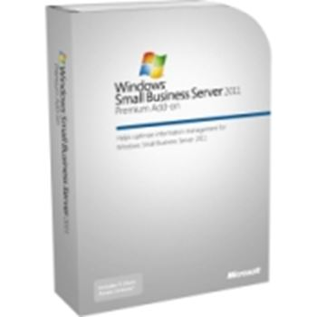 Picture of Microsoft Small Business Server 2011 X64 Premium Add-on 5 Client User Cal