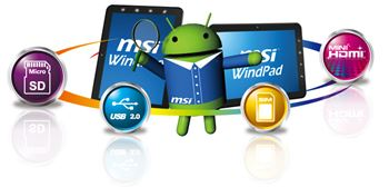 Picture of MSI ENJOY 10 PLUS 1GHZ,1GBRAM, 8GBHDD, ANDROID