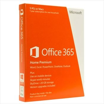 Picture of Office 365 Home Premium - 1 Year Subscription - NEW PACKAGING