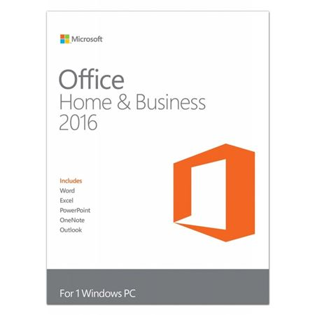 Picture of Office Home and Business 2016 DVD - FPP