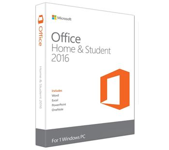Picture of Office Home and Student 2016 Medialess - FPP