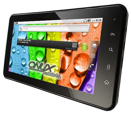 Picture of Onyx Aura 7.0 Tablet - Wifi and 3G