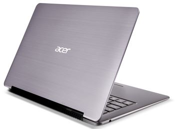 Picture of Refurbished - Acer Aspire S3 Ultrabook, Intel Core i5-2467M, 4GB,500GB HDD + 20GB SSD