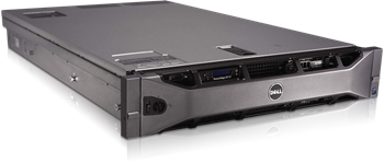 Picture of Refurbished Dell PowerEdge R710 Server  2 x Quad Core Xeon L5520 (2.2GHz) Processors 16GB DDR3 ECC Memory (192GB max with availaibility) 2 x 1TB 3.5 SAS Hard Drives H700 RAID Card