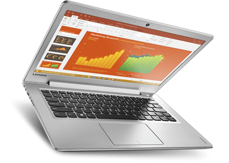 Picture of EX DEMO Ideapad 510S ULTRABOOK Intel Core i5-6200u, 14.1 Display, 8GB Memory, 256GB SSD (Solid State Disk), Dedicated 2GB Graphics, Win 10 Home