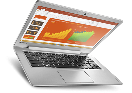 Picture of EX DEMO Ideapad 510S ULTRABOOK Intel Core i7-7500u, 14.1 Display, 8GB Memory, 256GB SSD (Solid State Disk), Dedicated 2GB Graphics, Win 10 Home - 3 year warranty