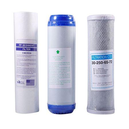 Sediment CTO GAC Service Filters